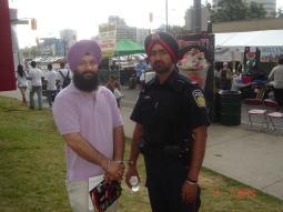 Sukhjit Singh & Peel Police Constable
