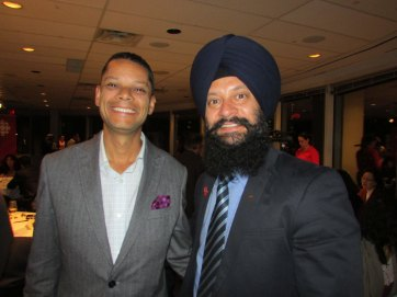 Matt Galloway (CBC Metro Morning) & Sukhjit Singh