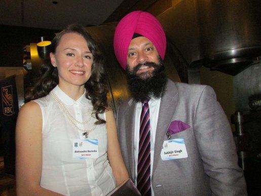 Aleksandra Nasteska & Sukhjit Singh